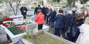 Mehmet Ali Birand mezarı başında anıldı