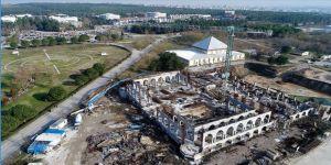Üniversite yerleşkesindeki 'kültür merkezi' gibi cami projesinin yüzde 35'i tamamlandı