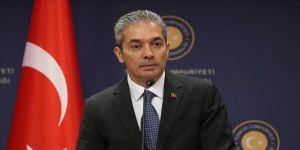 Dışişleri Bakanlığı Sözcüsü Aksoy'dan AB'nin Yavuz sondaj gemisi açıklamasına tepki