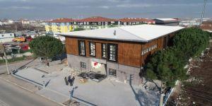 Yazlık Kültür Merkezi inşaatı son aşamaya geldi