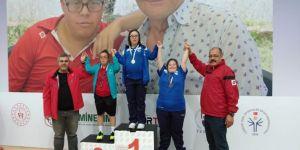 Özel sporcuların hedefi Türkiye şampiyonluğu