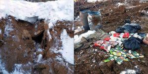 Bitlis'te PKK'lı teröristlerin kullandığı 5 sığınak imha edildi