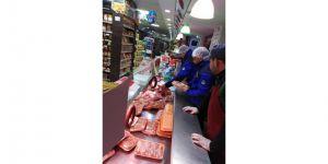Zabıta Ekipleri şikayet üzerine kasap ve et satışı yapan işyerlerini denetledi