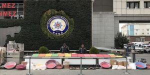 İstanbul'da düzenlenen operasyonda 821 bin ecstasy hap ele geçirildi