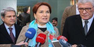 İYİ Parti Genel Başkanı Akşener'den İmamoğlu'nun Erzurum tatili açıklaması