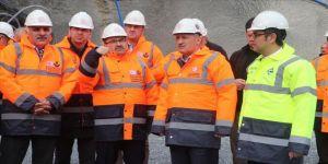 Ulaştırma ve Altyapı Bakanı Turhan: Zigana Tüneli'nde kazı çalışmaları yüzde 65 oranında tamamlandı