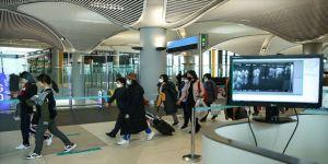 İstanbul Havalimanında termal kamera kontrolü devam ediyor