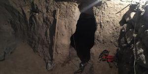 Kayseri'de ahırında kaçak kazı yapan şüpheli yakalandı