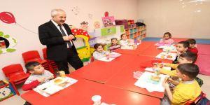 Başkan Büyükgöz Arapçeşme Bilim Sanat'ta