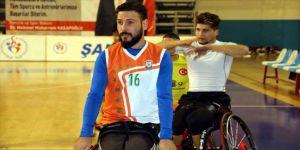 Cezayirli engelli basketbolcu kariyer hedefleri için Şanlıurfa'da
