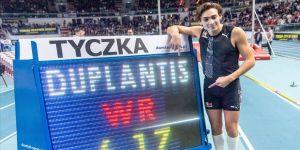 Duplantis'ten sırıkla yüksek atlamada yeni dünya rekoru