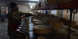 Manisa'nın tarihi iplik fabrikası 87 yıldır üretimde