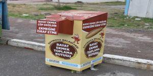 İsrafa karşı bayat ekmek kutusu