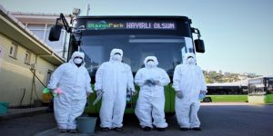 Ulaşım araçlarında virüs ve mikroplara izin yok