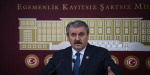 BBP Genel Başkanı Mustafa Destici, Meclis'te gündemi değerlendirdi
