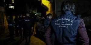 İstanbul'da 135 düzensiz göçmen yakalandı