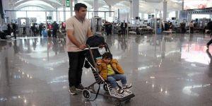 İstanbul Havalimanı'nda ücretsiz bebek arabası uygulaması başlatıldı