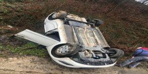 Gölcükspor'un teknik direktörü kaza geçirdi