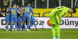 Fenerbahçe Ankara deplasmanında kaybetti