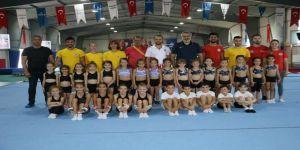 Kocaeli Olimpiyat Yıldızları Cimnastik Kulübü her platformda destek görmeye devam ediyor