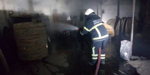 Gebze'de fabrika'da yangın çıktı