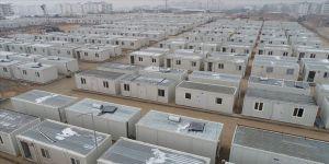 Elazığ'daki depremzedeler konteyner kentlere yerleşmeye başlıyor