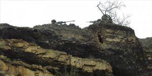 PKK'lı teröristlere ait silah ve mühimmat ele geçirildi