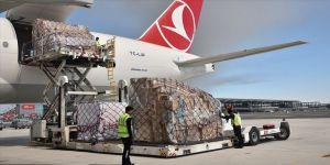 Ocak ayında hava yükünün yaklaşık yüzde 52'si İstanbul Havalimanı'ndan nakledildi