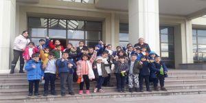 Kocaeli Arkeoloji ve Etnografya Müzesini ziyaret ettiler