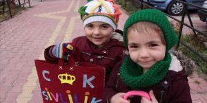 Konya'da çocukların üç aylar sevinci 'şivlilik'
