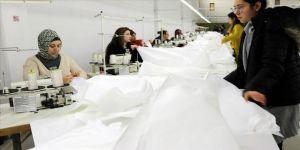Amasya'da üretilen antibakteriyel tulumlar Çin'e gönderiliyor