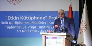 Bakan Ersoy 'Etkin Kütüphane Projesi'ni tanıttı