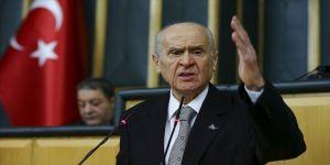 MHP Genel Başkanı Bahçeli: Türk'ün bahar kalkanı sınırlarımıza set çekmiştir