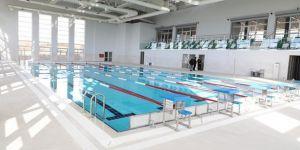 Yarı olimpik yüzme havuz açılıyor