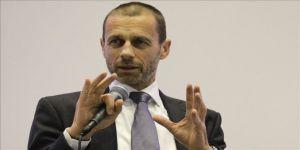UEFA Başkanı Ceferin'den EURO 2020'ye ilişkin koronavirüs açıklaması