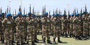 Somali'deki Türk askeri eğitim merkezi dördüncü mezunlarını verdi