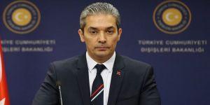 Dışişleri Bakanlığı Sözcüsü Aksoy'dan Hindistan Dışişleri Bakanlığı Sözcüsü'ne tepki