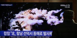 Kuzey Kore'den Doğu Denizi'nde yeniden füze denemesi