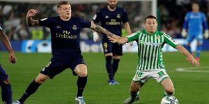 Real Madrid Betis deplasmanında liderliği kaybetti