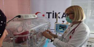 TİKA'dan Bosna Hersek'te bebek sağlığına destek