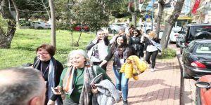 Kadın Mentörlük Yürüyüşünde yüzlerce kadın deneyimlerini yürürken aktardı