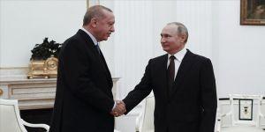Cumhurbaşkanı Erdoğan ile Rusya Devlet Başkanı Putin telefonda görüştü