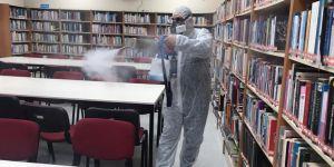Kültür Merkezi'nde Koronavirüs Önlemi