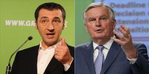 Almanya'da siyasetçi Özdemir ile AB Brexit Başmüzakerecisi Barnier'in Kovid-19 testi pozitif çıktı