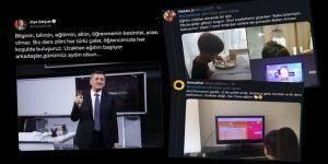 Sosyal medyadan 'uzaktan eğitim' manzaraları