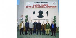 Genç MÜSİAD Gebze Farabi hastanesini ziyaret etti