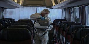 Koronavirüs otobüs yolcu sayısını yüzde 80 azalttı