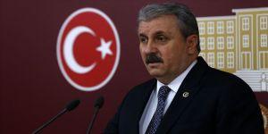 BBP Genel Başkanı Mustafa Destici: Dosyanın kapatılmasına müsaade etmeyeceğiz