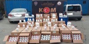 Kocaeli'de kaçak üretim yapan Tıbbi ve medikal malzemeler imalathanesine baskın