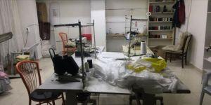 Başkentte 'kaçak maske' üretimi yapan iş yeri mühürlendi